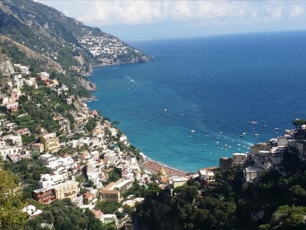Pompeii and the Enchanting Amalfi Coast from the port of Salerno
