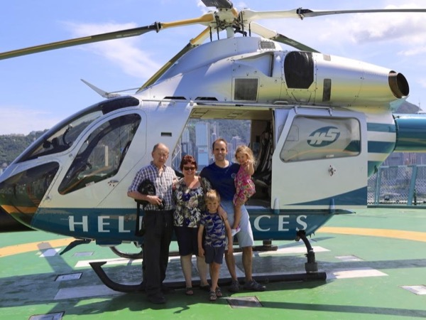 The VIP Hong Kong tour by helicopter, harbour cruise and private car
