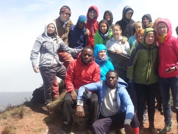 Mount Cameroon Summit in 3 days.
