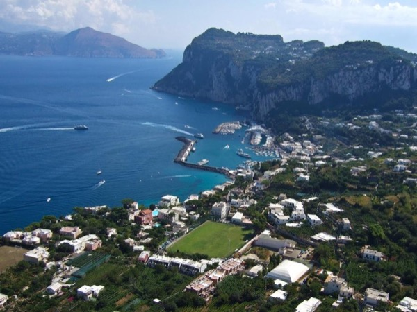 Full Day Private Luxury Speedboat from Positano to the Island of Capri