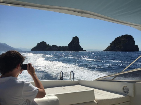 Salerno to Capri Speedboat Excursion