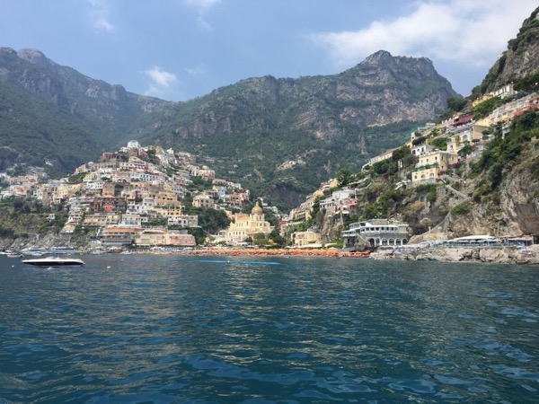 Full Day Boat Excursion Naples to Capri & Positano