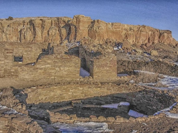 Chaco Culture National Historic Park New Mexico