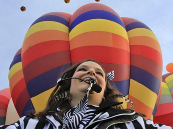 Balloon Fiesta for folks who choose to get up close with the least amount of walking.