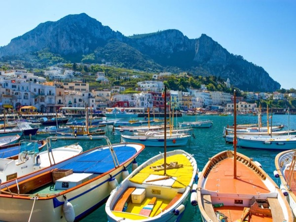 Capri by private boat departing from Amalfi, Sorrento or Naples