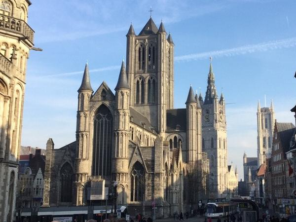 Shore excursion from Antwerp Cruise Terminal - Ghent tour- 1 day-transport by private car