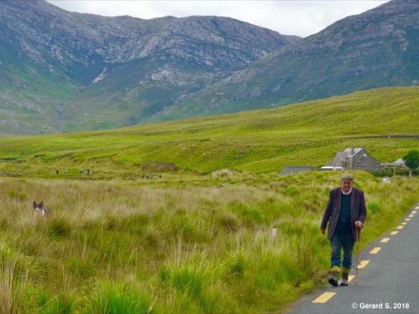 From Kenmare - The road less traveled to Glengarriff - Garinish Island -Famous Healy Pass