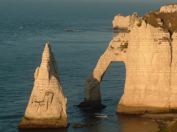 Etretat, Fécamp and Honfleur from le Havre with a rental car private tour