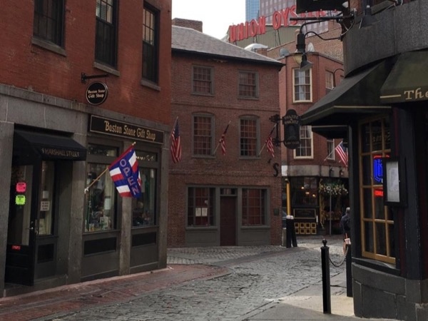 Walking tour along the historic Boston Freedom Trail