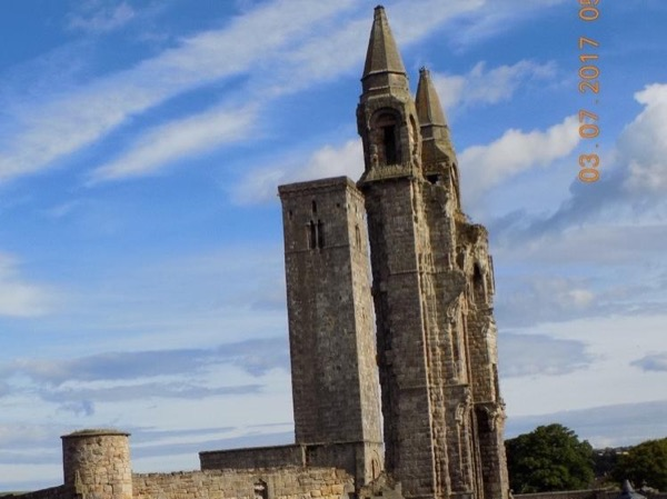 Edinburgh to St Andrews scenic private tour