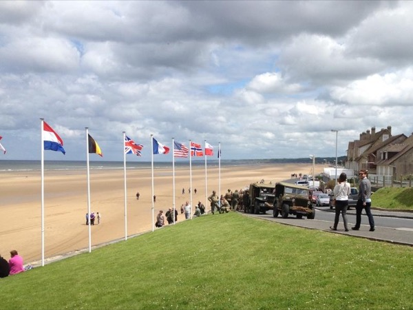 D-Day tour (2 days) in upscale van for max 6 people