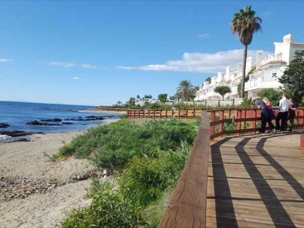Coastal Boardwalk & Andalusian Village of Marbella with private guide