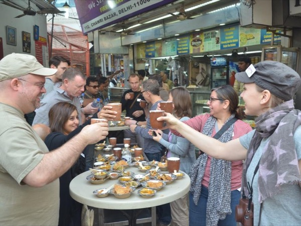 Indian food tour in New Delhi