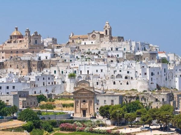 Brindisi, Ostuni and millennium old olive grove