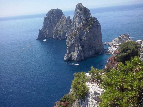 Capri, the island of the wild beauty