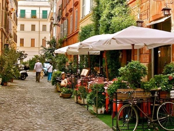Trastevere and the Jewish district