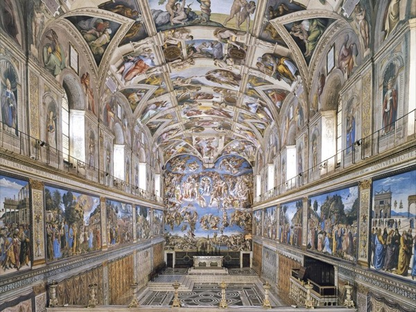 Vatican Museums, Sistine Chapel , St Peter's Basilica. Tickets not included. No line