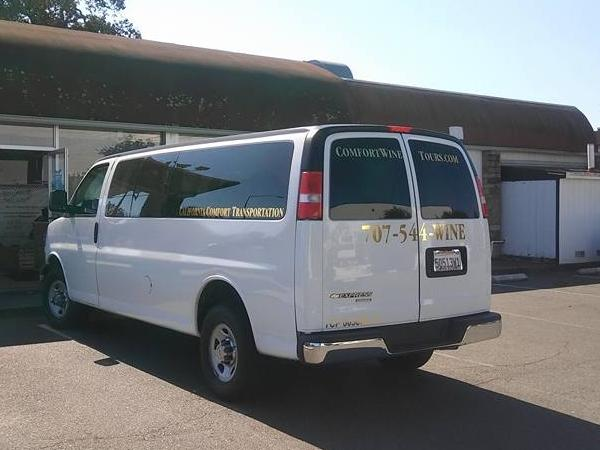 Dinner / Corporate Outings / Wine, Weddings, Many Bachelorette Party's / All Shuttle, All occasions.
