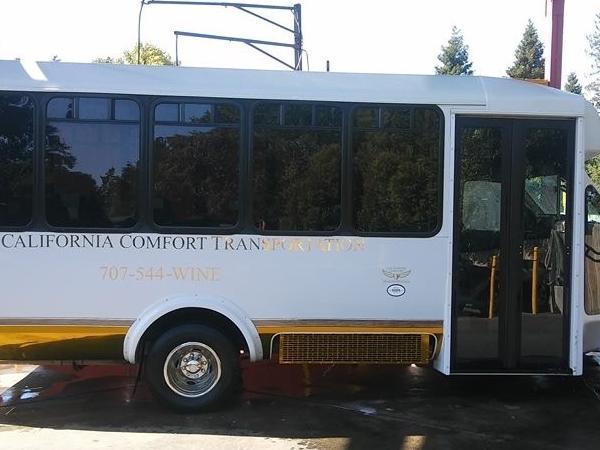 21 Passenger tour Bus