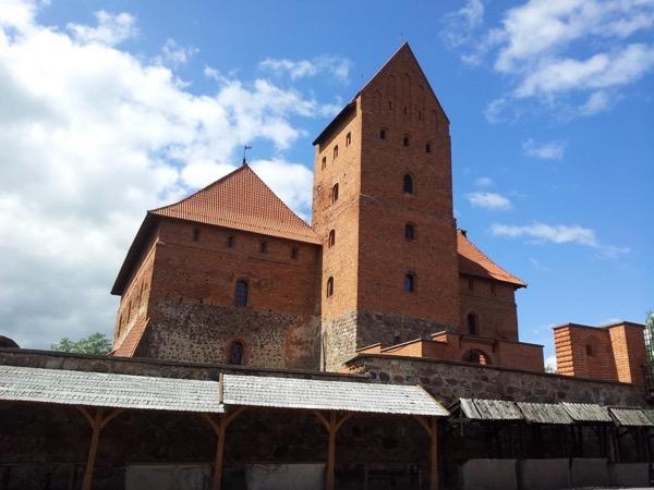 Former capital Trakai: a beautiful medieval castle in the island