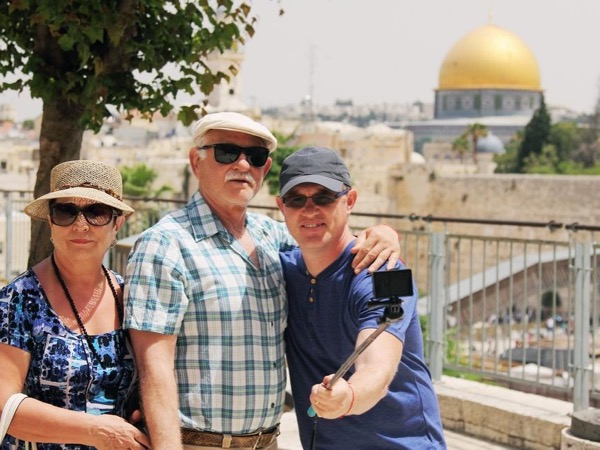 Amazing walking city tour of Jerusalem
