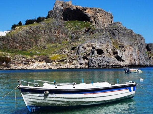 Rhodes Town / East Coast / Lindos / Lunch by the Sea