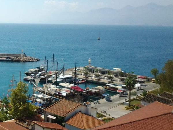 Antalya City and Waterfalls