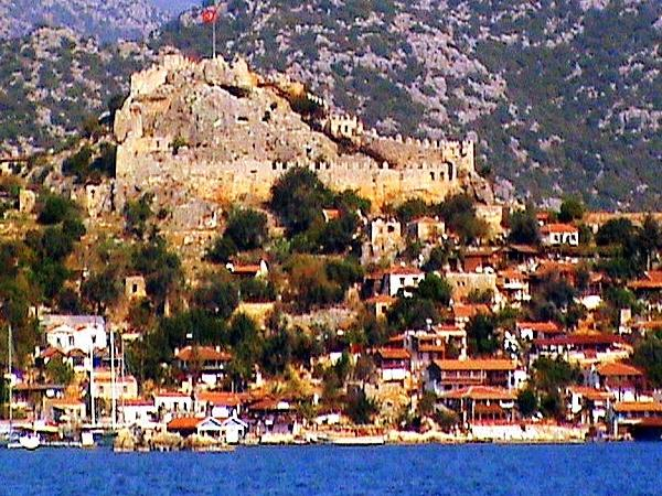 Kekova, Myra, St Nicholas Church