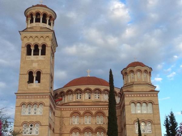 Pilgrimage to the church of Saint Nektarius of Aegina