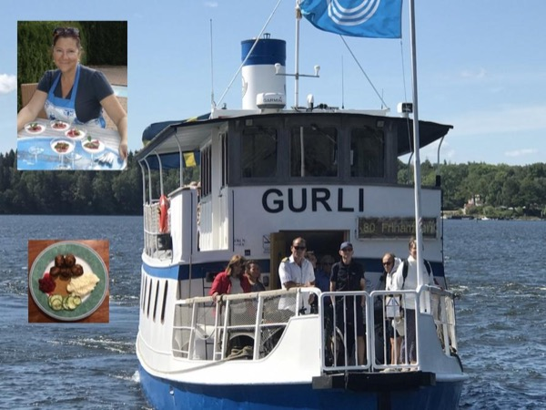 Boat Tour & Private Lunch out on the island of Lidingö