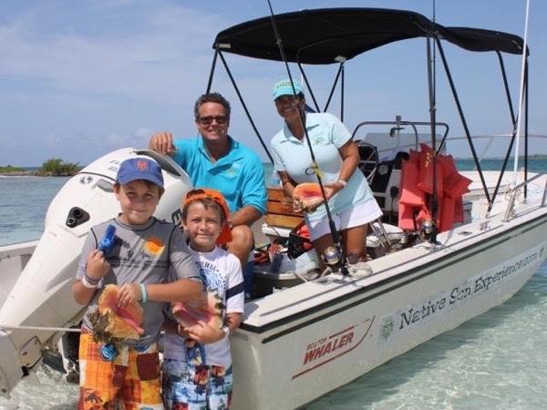 Grand Bahama's Boating Experience