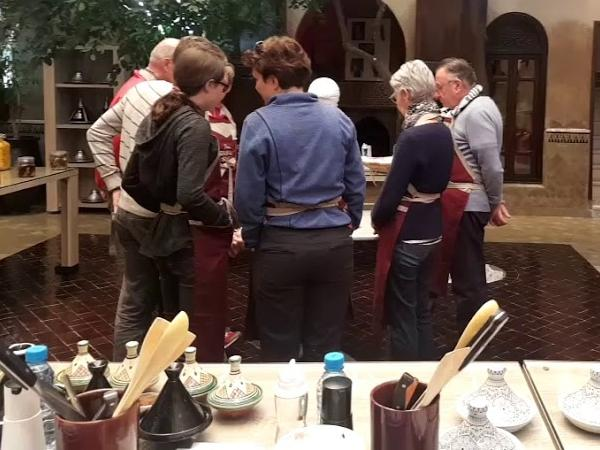 An amazing cooking class experience