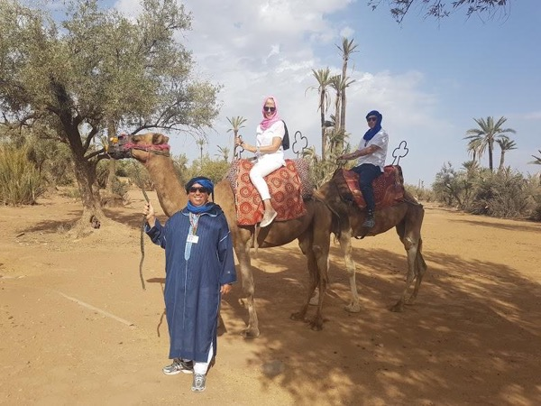 Camel ride Experience in Marrakech