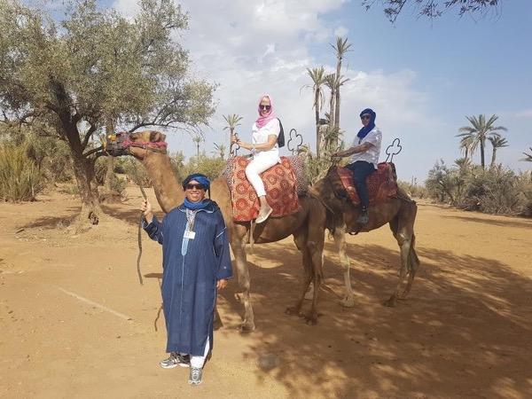 Camel ride Experience in Marrakech