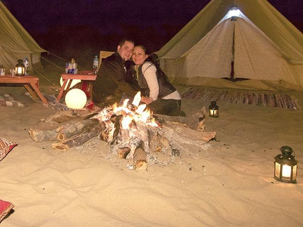 Camping in Huacachina desert Buggy ride + Dinner