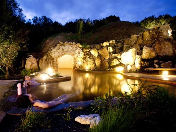 Luxury hot springs, wineries and natural beauty