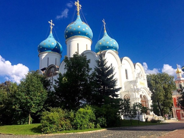 Golden Ring City - trip to Sergiev Posad