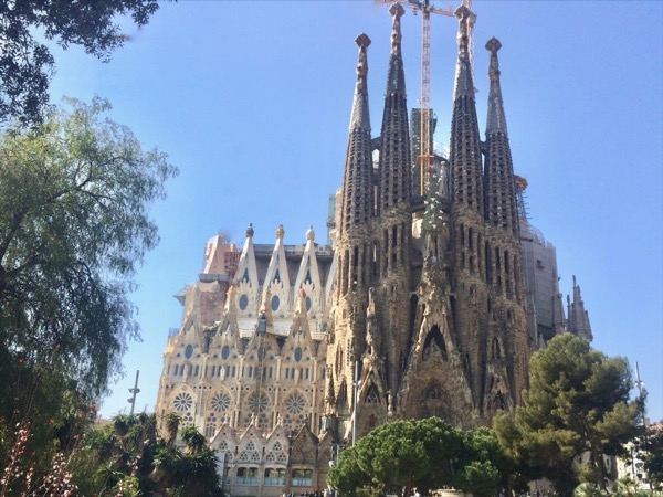 03.1. Sagrada Familia in the afternoon - the whole temple in 2 hours in a Private Tour