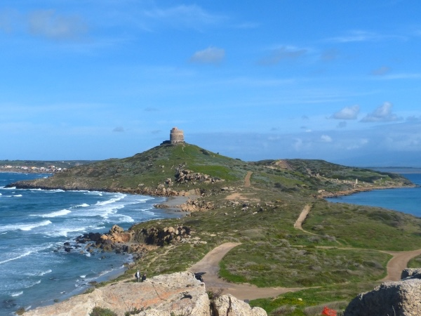 West Sardinia, visit a Roman settlement, Statues of Giants and a Vernaccia Winery