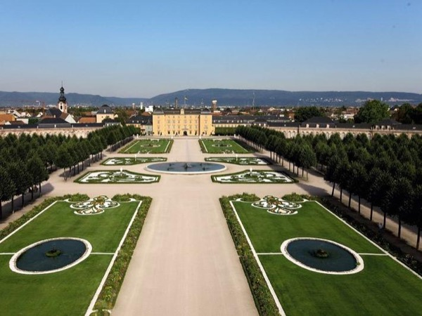 Tour of Schwetzingen Castle and Garden.