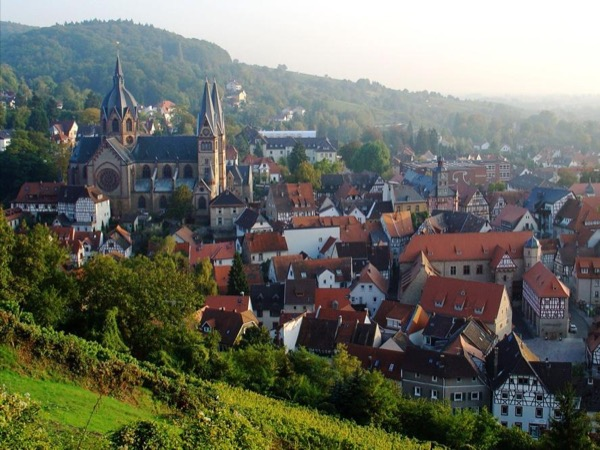 Tour the beautiful Bergstrasse & Odenwald Forest.