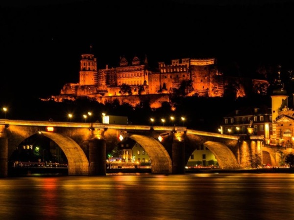 Heidelberg at Night.
