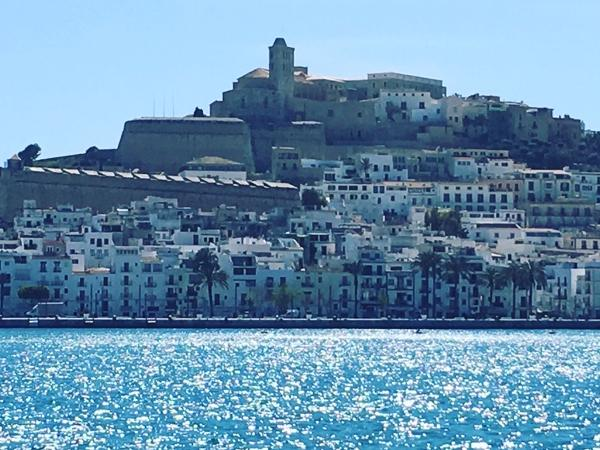 Beautiful old town Ibiza