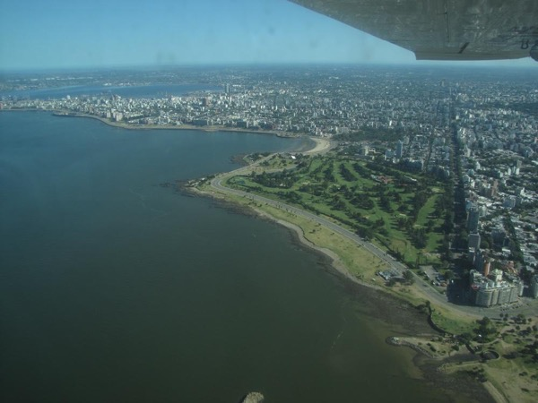 Montevideo Aerial Tour