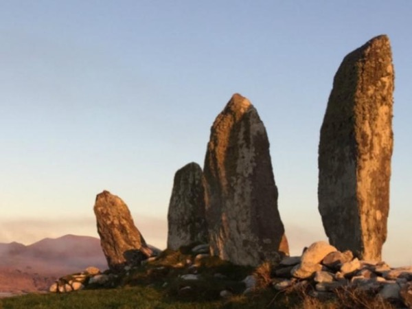 Stories told in stone along the Skellig Ring on the Ring of Kerry